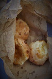 a bag of cheesy bread